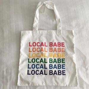 Local Babe Rainbow Tote